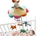 ШИЛО Горячие Продажа Mamas & Papas Детская Кроватка Подвесные Игрушки Трещотки Младенца Игрушки Мягкие Плюшевые Кролика Музыкальные Мобильные Продукты 60 Песни кролик Кукла