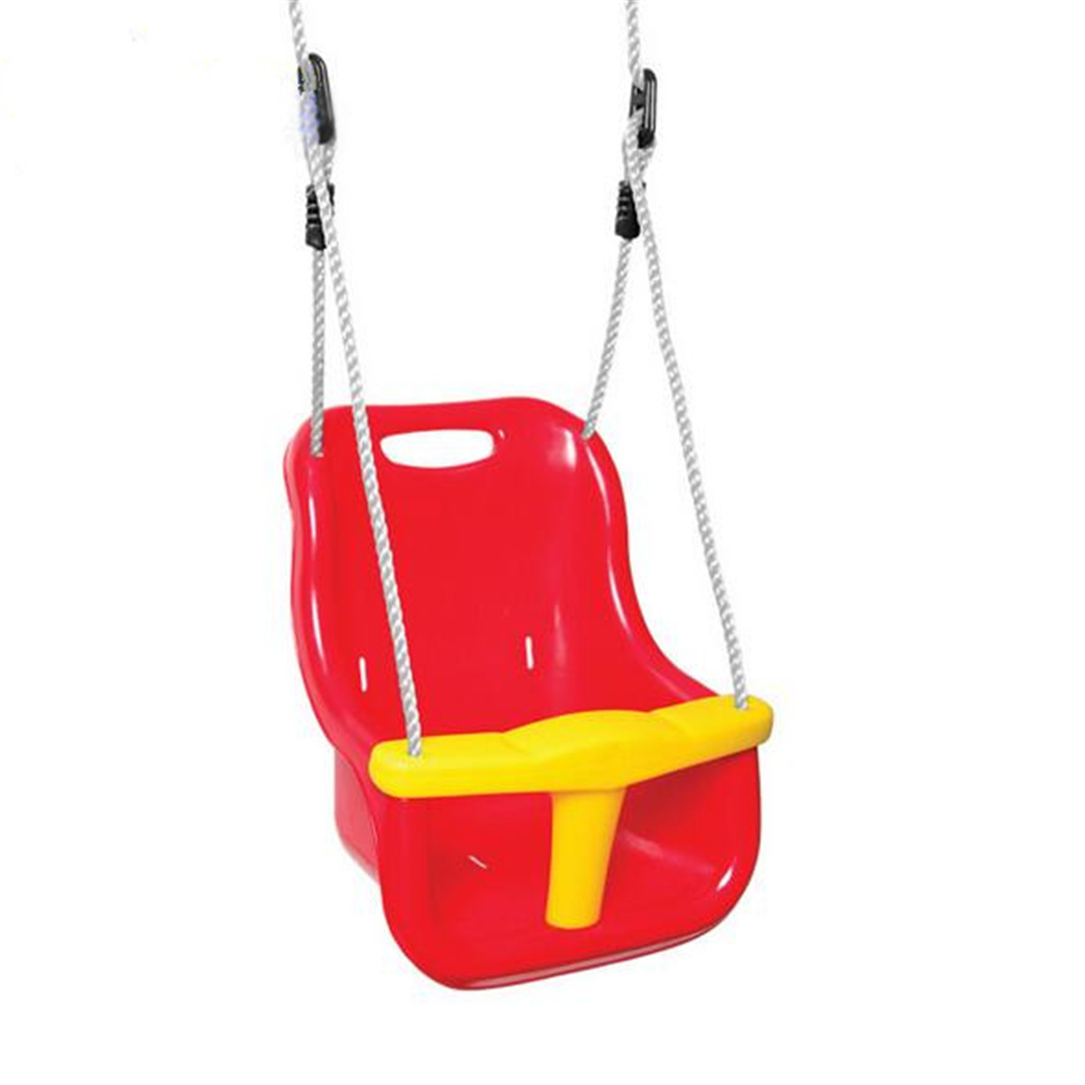 3-in-1 Indoor Outdoor Safe Healthy Swing For Kids Toys For Children Baby High Back PE Plastic Basket Fun Crazy Games