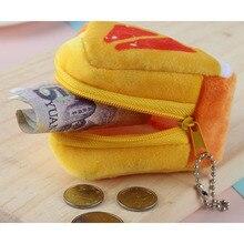 1PCS Girls Kids Coin Purse Children's Holiday Gift Creativity Plush Triangles Fruit Coins Mini Keybag Porte Monnaie Femme Wallet