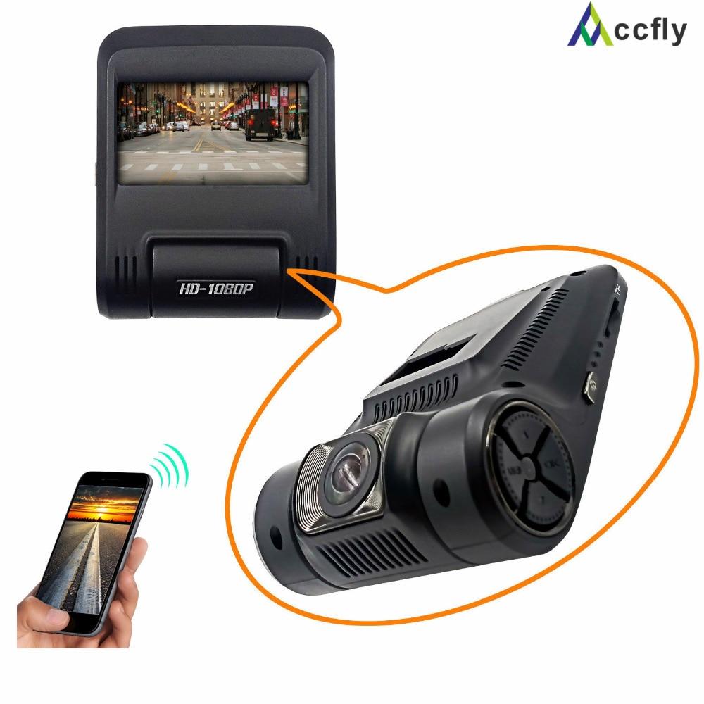 Accfly WiFi Car DVR DVRs Dash cam Camera Registrar car video recorder Full HD 1080p Novatek 96658 Sony IMX322 2.4 inch car dvr camera video recorder wireless wifi app manipulation full hd 1080p novatek 96658 imx 322 dash cam registrator black box