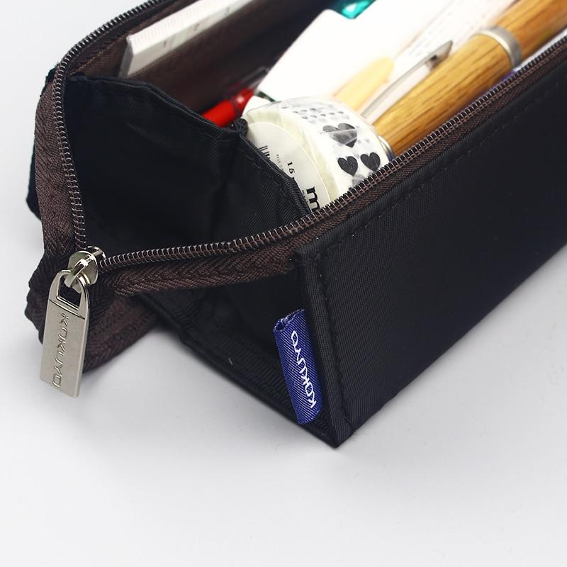 caneta capacidade openinglarge bolsa maquiagem papelaria escolar suprimentos 04