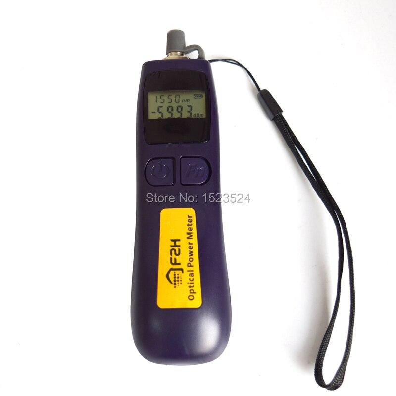 Grandway мини волоконно-оптический источник определения повреждения прибор для тестирования 5 км и оптический Мощность метр FHP12A-70~+ 10dBm
