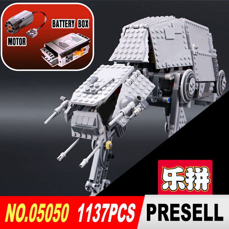 LEPIN 05050 Star Wars AT-AT robot Model Building kits blocks diy bricks legoINGlys 10178 Toys for Boys Gift educational toys wange educational learning toys kids diy set toys cars plastic model kits building bricks blocks for boys 4 in 1 with motor