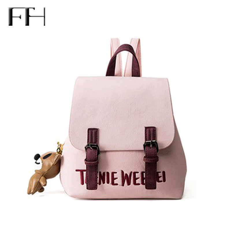 Hot sale lovely female leather Backpack fresh cute School bags For student Girls fashion ladies travelling bag for women Mochila  hot sale high quality ultra light waterproof child school bag lovely children backpack girls backpack grade class 1 6