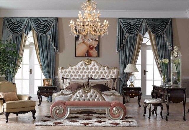 Caliente la venta de lujo cama clásica en Sets de Dormitorio de ...