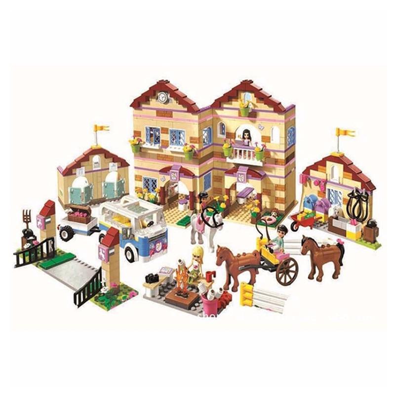 ФОТО 2017 New  Friends Series 3185 Girls Housework Time Panorama Building Blocks Girl Toys For Girl Christmas Gifts 10170 bricks
