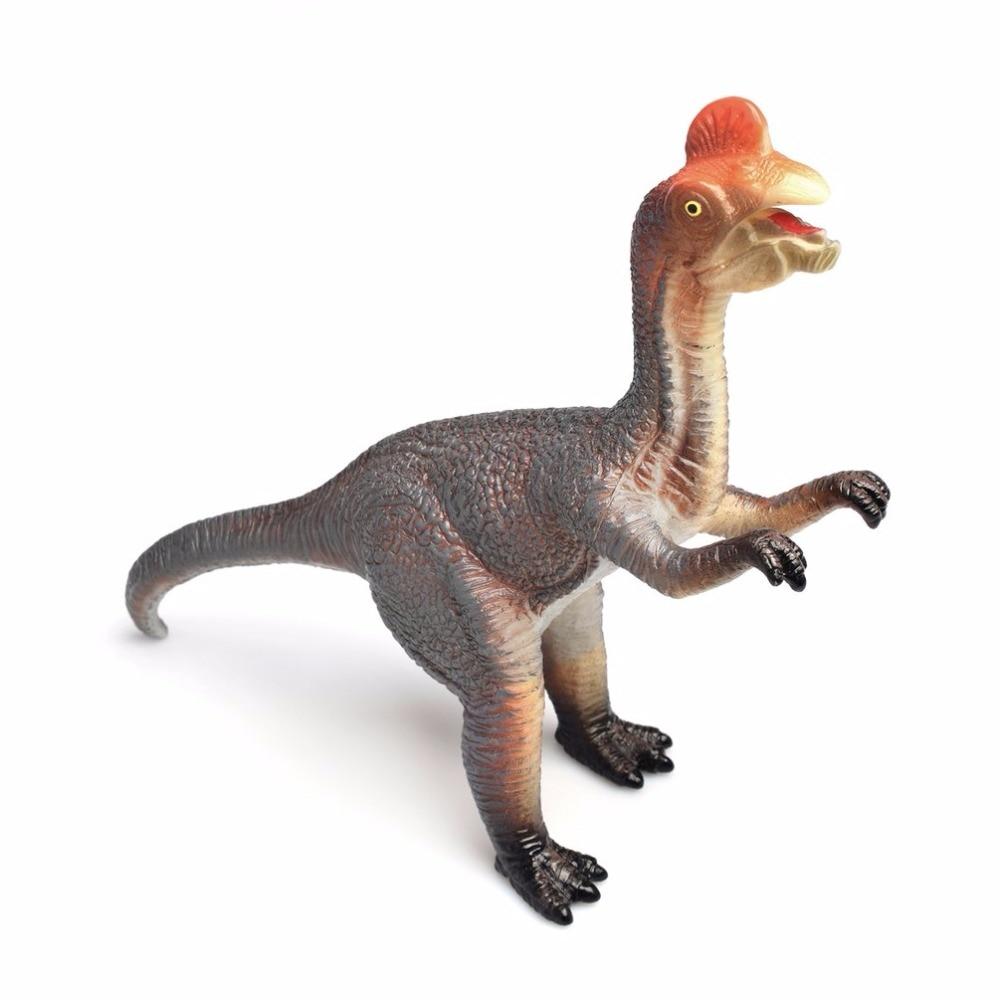 6Pcs Lifelike Dinosaur Model With Sound action figure Jurassic Simulation Dinosaur Sound anime figure Educational Toys For Kids
