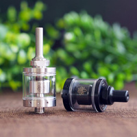 Cthulhu Hastur MTL RTA Mini 22mm Diameter with 3 Air Holes Smaller Chamber Bottom 2ml top filling