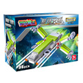Nave estelar Spacefighter Aeronaves Modelo de Construção Kits Brinquedos Fantasma Lutador X Montagem DIY Blocos de Construção Para As Crianças Presentes