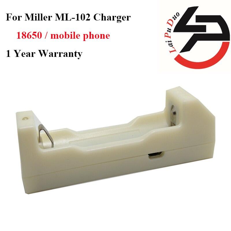 2016 Miller ML102 Chargeur (Version 9.0) 18650 chargeur/mobile Téléphone alimentation pour éviter la surcharge et décharge profonde