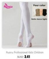 ruoru/детские балетные колготки для девочек, белые балетные танцевальные леггинсы, колготки с дырками, телесные, черные, розовые чулки