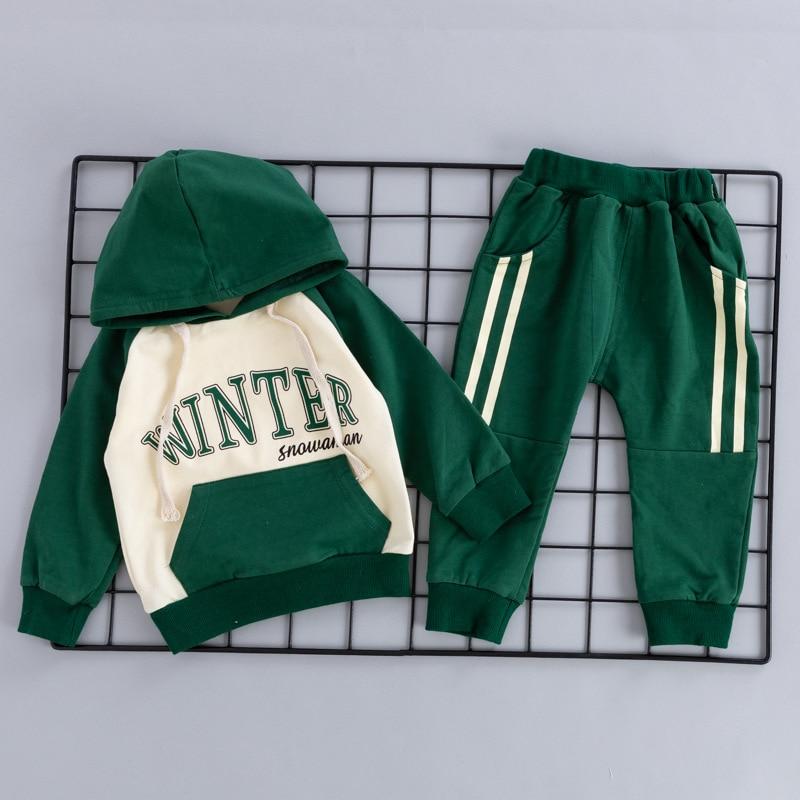 Kids Sports Clothes Set Baby Letter Print Casual Suit Boy ...