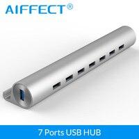 AIFFECT High Speed 4 Port USB 3 0 Hub USB Port USB HUB Portable OTG HUB