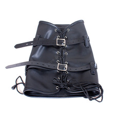Leather Arm and Calf Binder BDSM Fetish Wear For Female