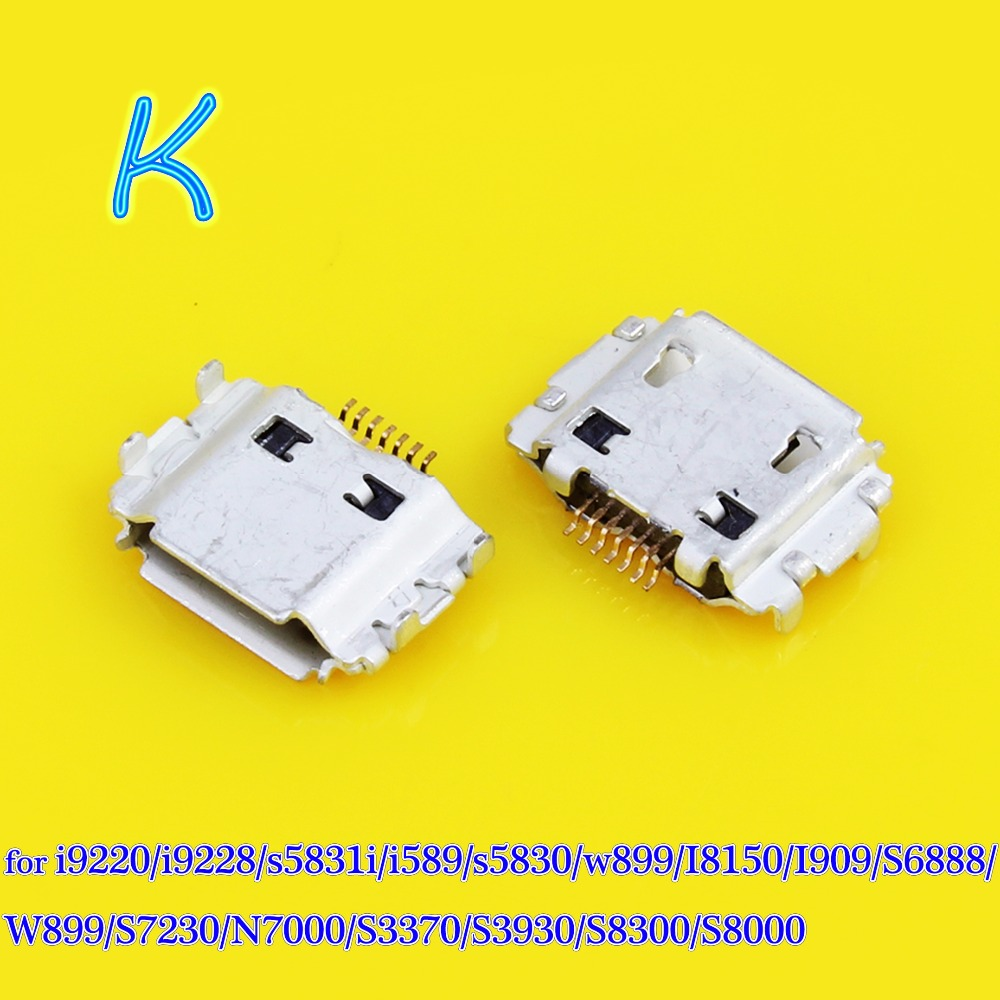 JCD Micro-Usb-Connector Charging-Port I9220 for S8300 N7000/I9220/S3370/..