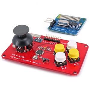 Image 3 - لوحة مفاتيح عصا التحكم PS2 RF 433MHz عصا التحكم اللاسلكية لعبة وحدة التحكم عن بعد طقم جهاز الإرسال والاستقبال للسيارة الذكية/طائرات ذات 4 محاور