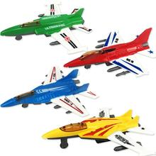 Cute Interesting Pull Back Plane Toy Mini Aircraft Airplane Shape Toy for Kids Gift 1 pcs pull back gliding aircraft mini diecasts model aircraft rotate propeller toy for children random color 4 style bei jess