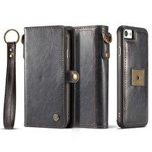 Роскошный телефон чехол для Apple IPhone 8 чехол бумажник с повесить веревку карты держатель Магнитный чехол для Apple IPhone 8 плюс Чехол iPhone8