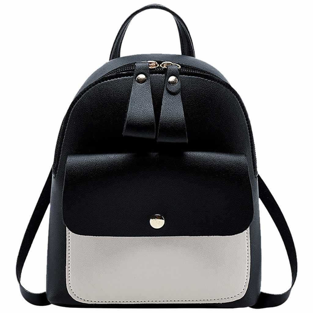 Мини-рюкзак Для женщин bagpack Мода плечи небольшой Рюкзак Кошелек с надписью мобильный телефон посыльного женский рюкзак L4