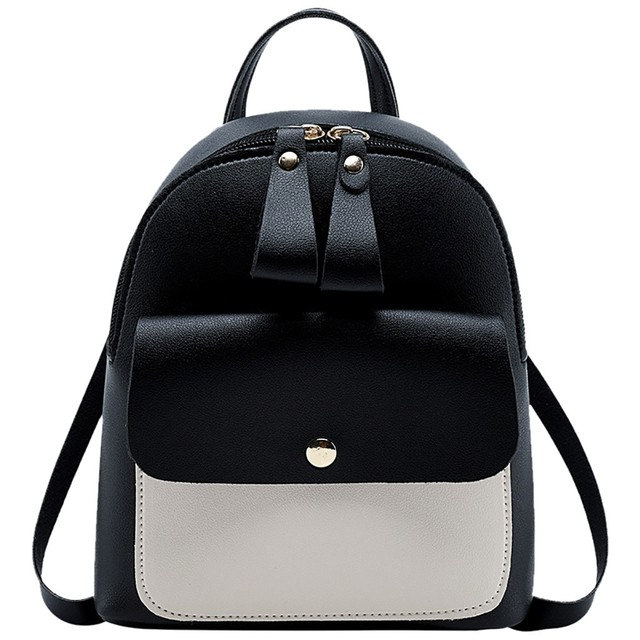 8f6dce141 mini backpack Women bagpack Fashion Shoulders Small Backpack Letter Purse  Mobile Phone Messenger Rucksack mochila feminina L4