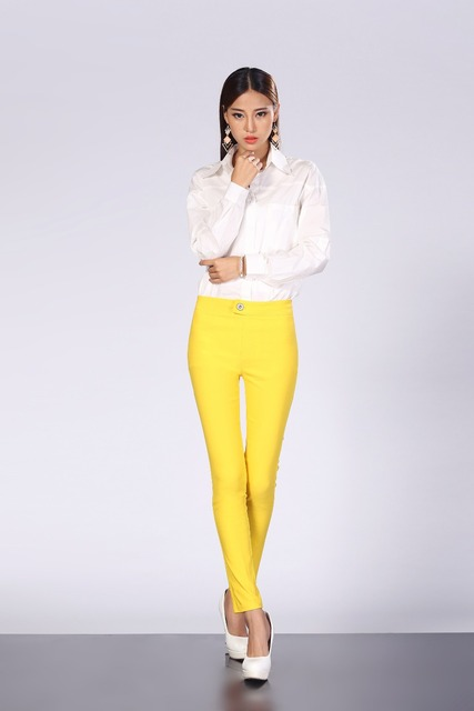 c92dee392 60% cotton 40% nylon candy color feet stretch slim slim girls  leisure  trousers free delivery can be wholesale sellers integrity