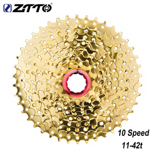ZTTO MTB 10 Speed Cassette Wide Ratio 11-42t Bicycle Freewheel Sprockets Bike Parts Compatiblel For Shimano M6000 M610 M675 M780