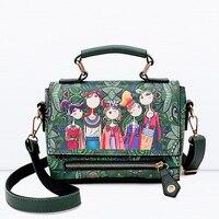 National Women Handbags Geniune Leather Flap Messenger Bags Sac A Main Shoulder Bags Women Crossbody Bag