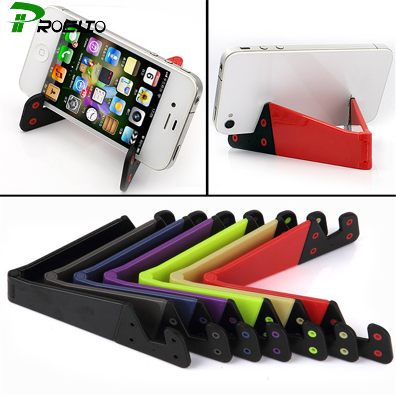 Universal Portable Smart Phone Foldable Vertical Horizontal Mount Holder For iPhone iPad Samsung HTC Mobile Phone Tablet Stand