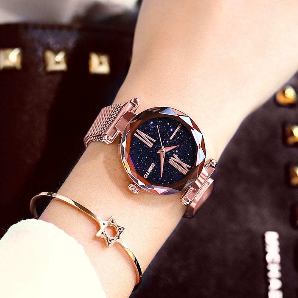 2018 Creative Rose Gold Women Watches Luxury Brand Roman Dress ladies bracelet watch waterproof casual female clock reloj mujer kimio brand bracelet watches women reloj mujer luxury rose gold business casual ladies digital dial clock quartz wristwatch hot page 2