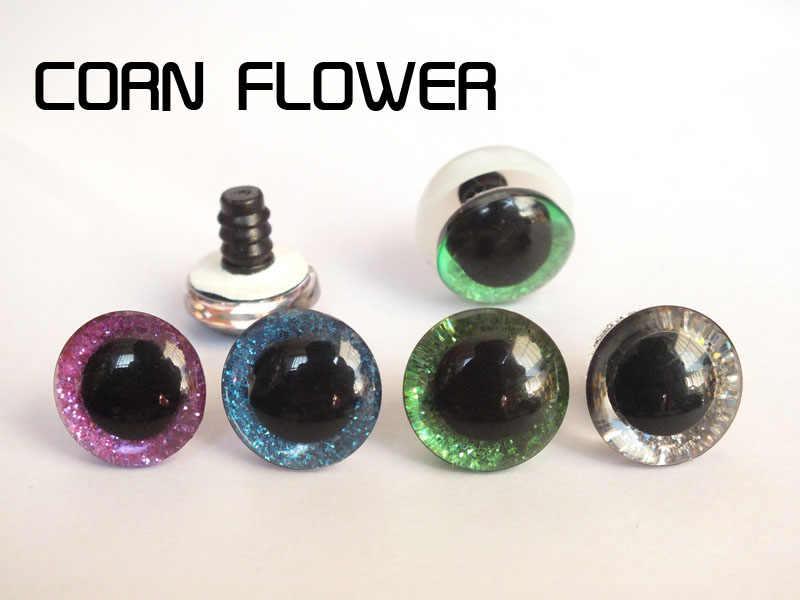 Для выведения токсинов, 40 шт разные цвета 16/18/20/25 мм пластиковые прозрачные для игрушек глаза + блеск нетканых материалов + жесткий шайба для плюшевая игрушка в виде животного