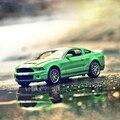 1:32 модель автомобиля mustang Shelby Cobra GT500 четыре двери акустооптического воин сплава модели классических автомобилей игрушки для дети