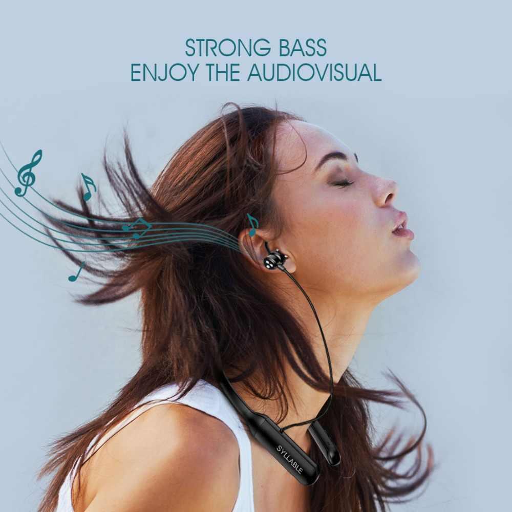 Auriculares estéreo Syllable Q3 auriculares estéreo 6 horas control de volumen de auriculares para auriculares Android IOS anzuelos para auriculares Q3