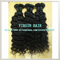 "Queen Hair Products Natural Hair Extension Kinky Curly 14""-28"", 2pcs/lot Natural Color Can Mix Length DHL Free Shipping Ring"