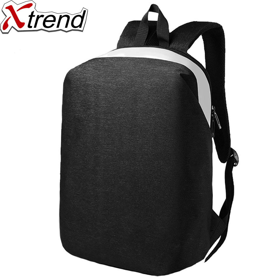 Xtrend Men Backpack For 15.6 Inch Laptop Teenager Fashion Male Leisure Travel Large Capacity School Oxfor Shoulders Bag Mochila 2018 new 17 inch laptop backpack men large capacity shoulder bag usb backpacks for male travel mochila school bags for teenagers