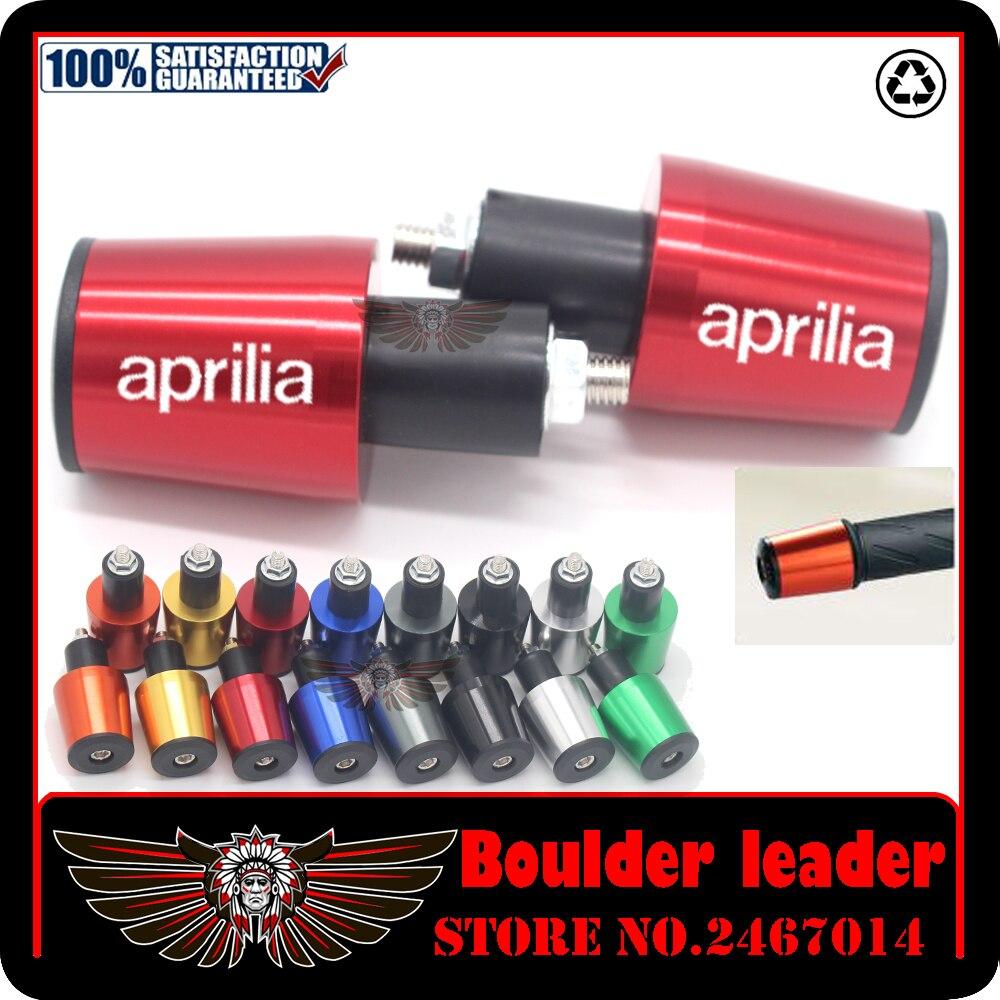 "Universal Motorcycle Motocross CNC Aluminum 7/8"" Bar End Handlebar For APRILIA RS 125 RS125 RSV4 Fairing Kit RSV 1000 Tuono"
