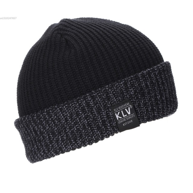 fae0b5bb2 US $4.85 |New Unisex Women Men Fashion Stretch Knit Hat Beanie Double  Cuffed Hat-in Men's Skullies & Beanies from Apparel Accessories on ...