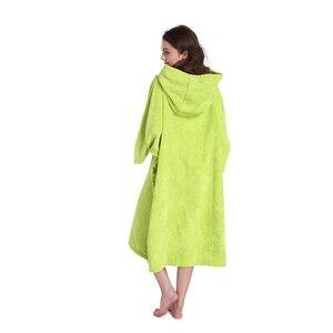 Image 5 - סופר לספוג שינוי חלוק אמבטיה, לגלוש מגבת עם הוד, אחת גודל מתאים לכל
