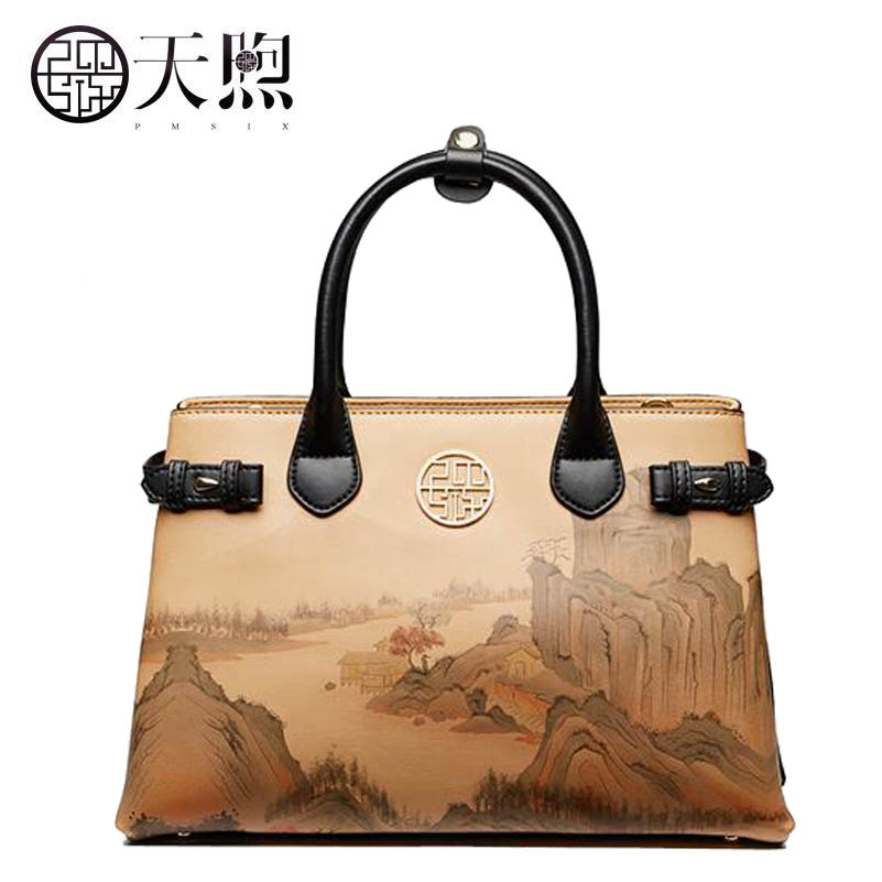 2018 New women leather bags fashion printing Flowers luxury tote handbags designer women bag leather handbags Crossbody bags new women leather bags fashion embroider flowers luxury tote handbags designer women bag leather handbags crossbody bags