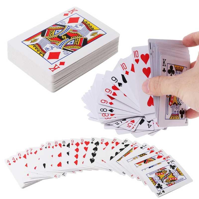 Nova Cachoeira Toys-M20 Jogando Cartas Baralho de Poker Adereços Magia Truques de Mágica