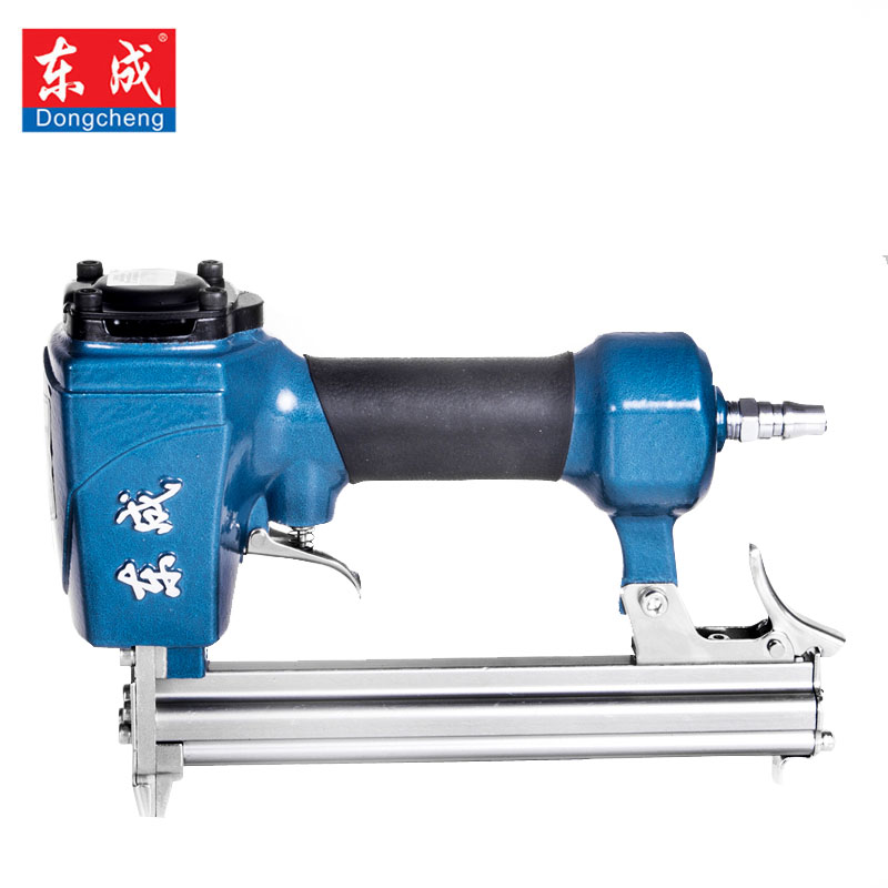 Dongcheng Electric Air Pinner Pneumatic Pin Nailer Gun Electric Straight Nail Gun Tool for Wood dongcheng ff t50dc nail gun air brad nailer 25 50mm straight nail 1 4mm diameter stapler 4 8 bar gun 8mm pipe