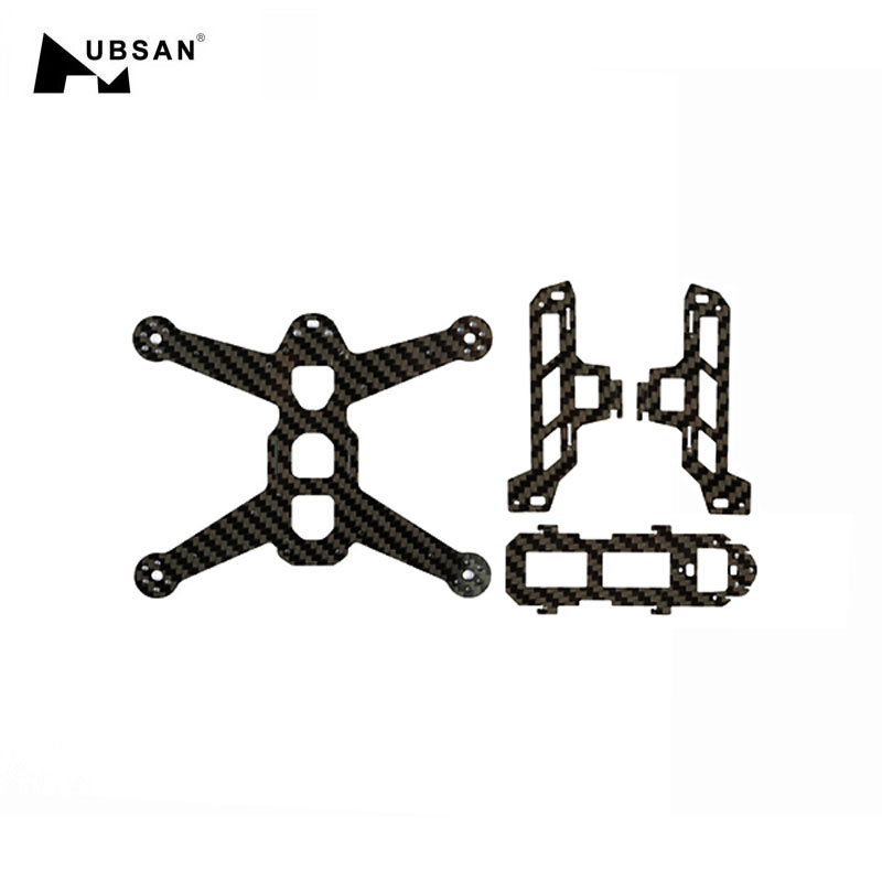 Hubsan H123D X4 JET RC Quadcopter Drone FPV Spare Parts Accessories Fiber Frame Body Carbon Fiber Board H123D 08