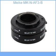 Meike MK-N-AF3-B Auto Macro Focus AF Extension Tube Ring Set Adapter for Nikon 1 Mount Camera J1 J2 J3 V1 V2