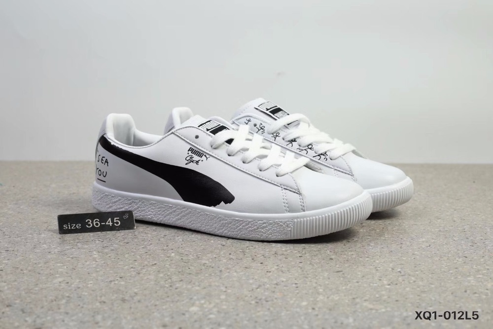 2018New Arrival PUMA x SHANTELL MARTIN Basket Sneakers Shoes Men's and Women's Badminton Shoes Size 36-45