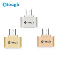 Elough Лидер продаж весело Мини Micro USB OTG адаптер Камера MP3 конвертер OTG кабель для Samsung Xiaomi Sony LG Android MicroUSB OTG