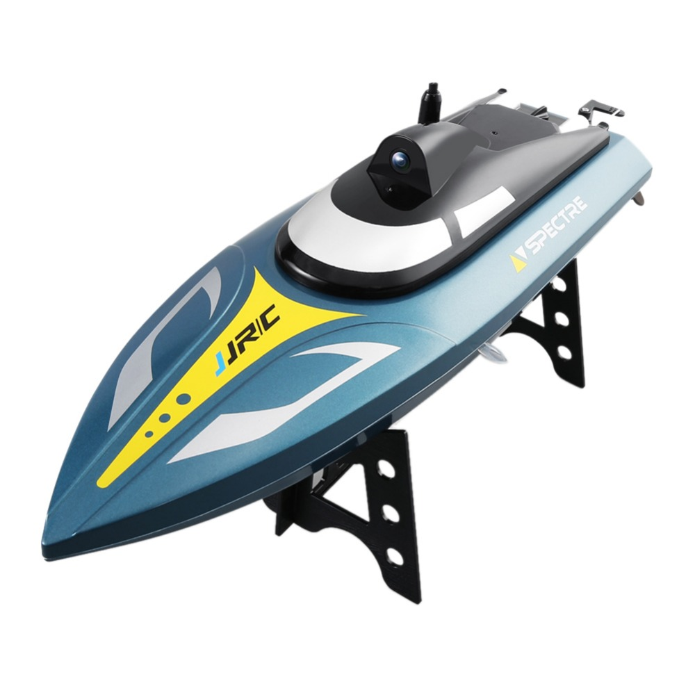 JJRC 35cm High speed Speedboat WIFI Real time Image Transmission Aerial Photography Racing Speedboat Water Electric RC Boat Toy