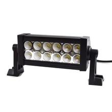 Одна пара 2 ШТ. 36 Вт 7 дюймов LED Work Light Bar 12X3 Вт светодиодный чип Наводнение Пятно света Spotlight Offroad Свет Бар Подходит ATV открытый свет