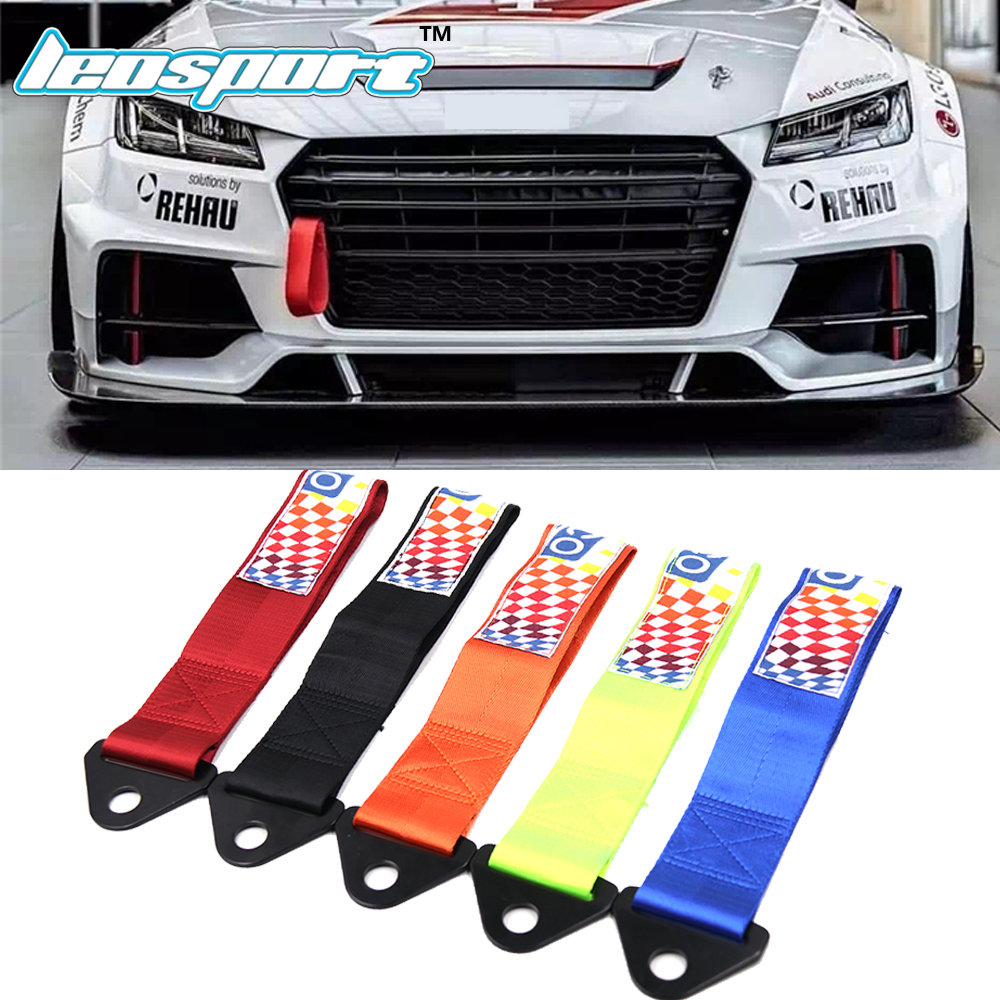 Leosport-NEW RACING TOW STRAP TOW ROPE HIGH STRENGTH LIGHTWEIGHT WEBBING WITH ORIGINAL LOGO SP