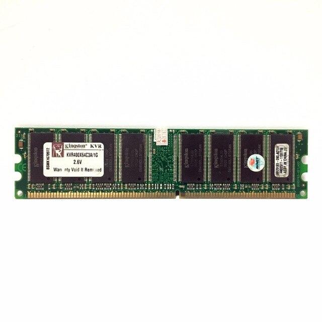 Kingston 1G 1 gb DDR PC 2700 3200 u DDR 1 333 МГц 400 333 400 МГц Настольный ПК памяти Memoria модуль настольных компьютеров и DDR1 Оперативная память 1
