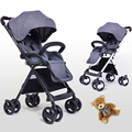 Baby stroller high landscape lightweight folding shock absorbers portable BB umbrella can seat baby trolley