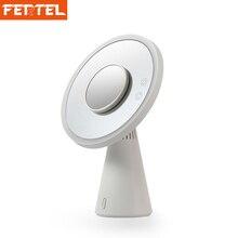Sem fio Bluetooth Speaker 3 em 1 5x Espelho de Maquiagem + LED Lâmpada de Mesa + Recarregável Bluetooth 4.0 Orador Coluna